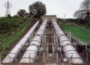 水圧鉄塔塗装工事