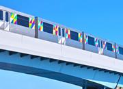 軌道橋脚塗装工事
